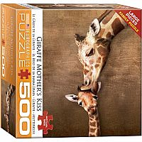 Giraffe Mother's Kiss 500pc