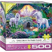 Unicorn Fairy Land 500pc