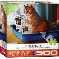 Kitty Throne 500pc