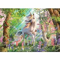 Unicorn in the Woods 500pc