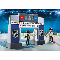 9016 NHL® Score Clock with 2 Referees