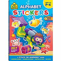 Alphabet Stickers (Ages 3-6)
