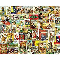 Antique Advertising 1000pc