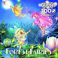 Forest Fairies Glitter: Purple 100pc