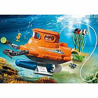 9234 Submarine with Underwater Motor