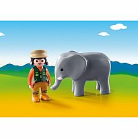 9381 Zookeeper with Elephant