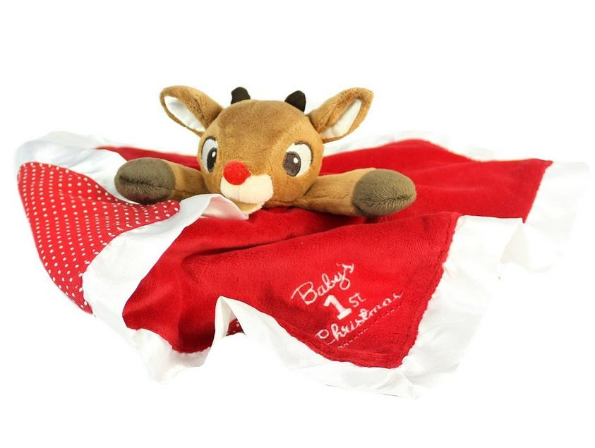 d4926fa5a3 Rudolph the Red-Nosed Reindeer Blanky - Raff and Friends