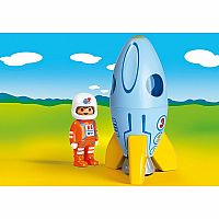 70186 Astronaut with Rocket