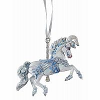 2018 Winter Whimsy Carousel Ornament