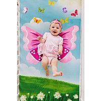 Butterfly Fitted Crib Sheet