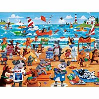 Paws & Claws  - Dogs Beach 300pc