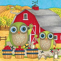 Debbie Mumm - Apple Orchard 550pc