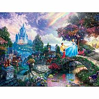 Thomas Kinkade Disney Collection: Cinderella 750pc