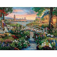 Thomas Kinkade Disney Collection: 101 Dalmatians 750pc