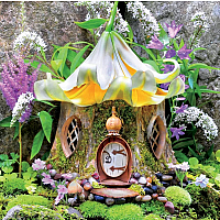 Fairy Houses - Lily Tea House 300pc
