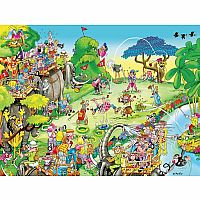 Comic Capers - Golf Safari 300pc