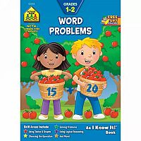 1st-2nd | Word Problems Workbook 32pgs