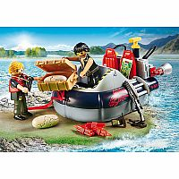 9435 Dino Hovercraft with Underwater Motor