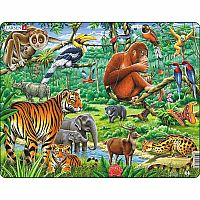 Jungle Animals 20pc Jigsaw
