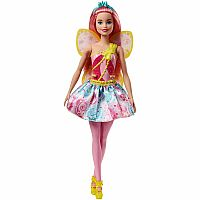 Fairy Doll with Swirls Skirt/Candy Wings