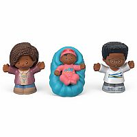 Little People Family 3 Pack (Blue)