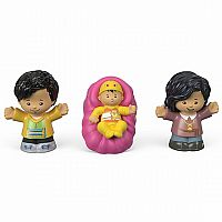 Little People Family 3 Pack (Pink)