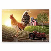 100 pc Sunrise Farm Cardboard Jigsaw
