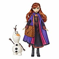 Anna and Olaf Storytelling Doll Set