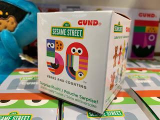 Sesame Street 50th Anniversary Blind Boxes Gund