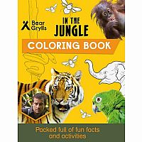 Bear Grylls: In the Jungle Coloring Book