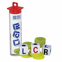 LCR® Left Center Right™ Dice game