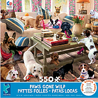 Paws Gone Wild: Living Room Romper 550pc