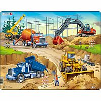 Construction 30pc Jigsaw