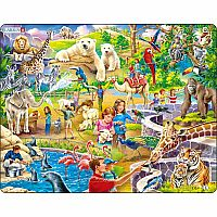 Zoo Animals 48pic Jigsaw