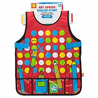 Art Apron with Pockets