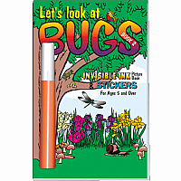 Invisible Ink with Stickers: Bugs Book 2