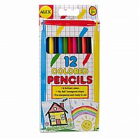 Colored Pencils 12 ct