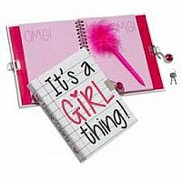 Locking Journal - It's a Girl Thing