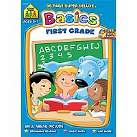 Basics: First Grade Deluxe Workbook