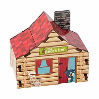 Build It Blueprint Puzzle: Cabin