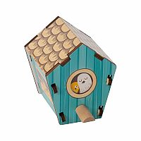 Build It Blueprint Puzzle: Birdhouse