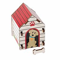 Build It Blueprint Puzzle: Dog House