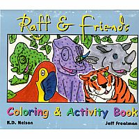 Raff & Friends Coloring Book