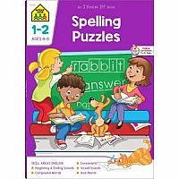 1st-2nd | Spelling Puzzles Workbook
