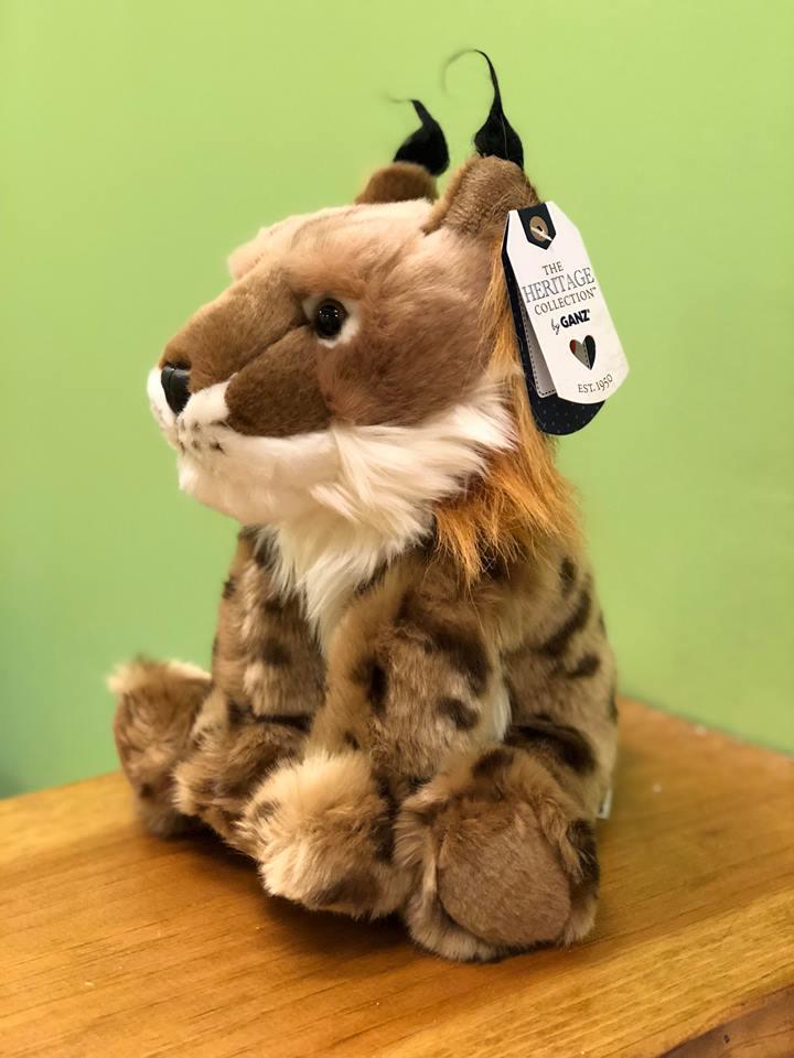 "Ganz Heritage Collection Lynx Stuffed Animal,12/"""