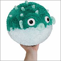 Mini Teal Pufferfish