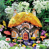 Fairyhouses - Dewdrop Inn 300pc