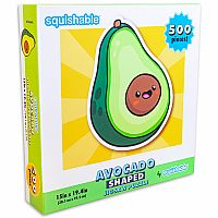 Puzzle: Avocado (Shaped) 500pc