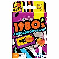 1980's A Decade of Trivia Card Game