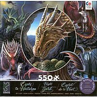 Night Spirit: Dragons 550pc